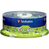 Verbatim CD-RW 700MB 2X-4X Surface, 25-Disc Spindle 95169