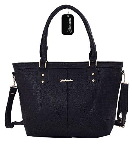 Kukubird Katrina Einkaufstasche täglichen Casual Bag Black