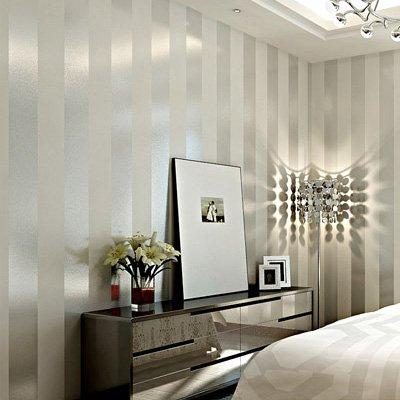 papier peint ray gris et blanc top des ventes. Black Bedroom Furniture Sets. Home Design Ideas