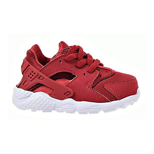 NIKE Huarache Run Toddlers' Running Shoes Gym Red/Gym Red/Dark Grey 704950-604 (10 M US)