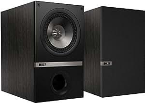 KEF Q100B Bookshelf Loudspeakers (Black Ash)