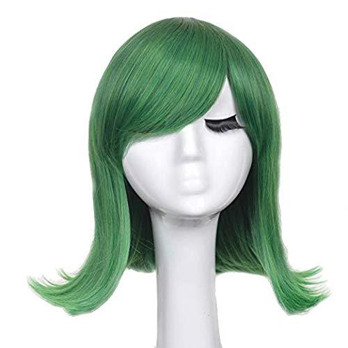 Prinzessin Und Frosch/Prinzessin Diana Frisur Perücke, Mode Kurze Grüne Partei Cosplay Kostüm Haar ()