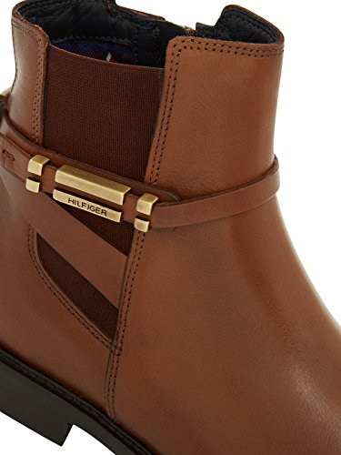 TOMMY HILFIGER Tommy Hilfiger Womens Boot Holly Cognac Marron