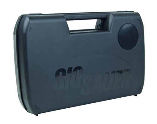 Sig Sauer Waffenkoffer 31 x 20 x 7 cm, schwarz, schlagfester Kunststoff, 400.80.11.1 (Softair Gewehr Sig)