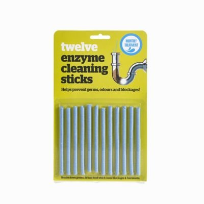 enzyme-cleaning-sticks-drain-plughole-blockage-prevention-pack-of-12