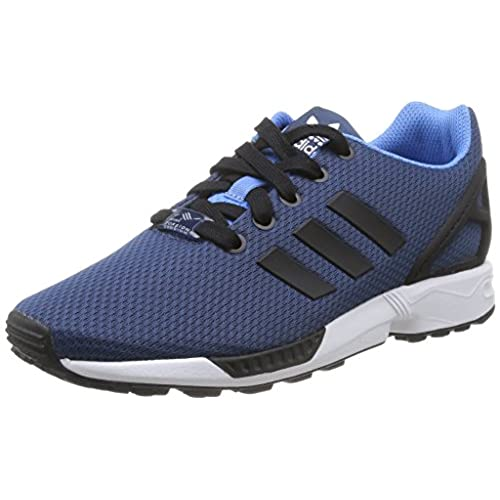 adidas ZX Flux, Femme Sneakers, Core Black/Core Black/Still Breeze, 38 EU
