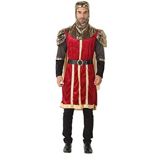 FantastCostumes Renaissance Herren Mittelalter König Kostüm Ritter Fasching Erwachsene Karneval - - Einheitsgröße