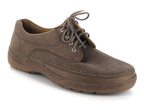 Solidus ® natura-chaussures à lacets homme Marron - Fango