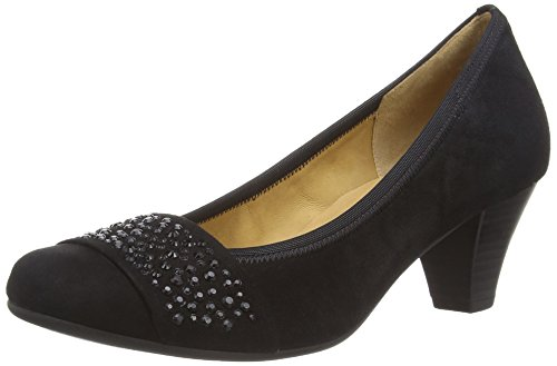 Gabor Shoes 35.482  Damen Pumps Schwarz (schwarz 17)