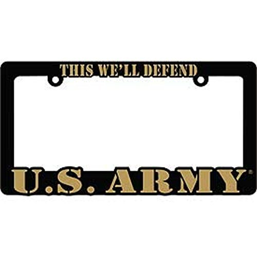 US ARMY Proud to Serve Auto License Plate Frame USA (Frames Usa)