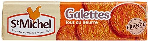 St Michel Galettes au beurre Paquet 130 g - Lot de 12
