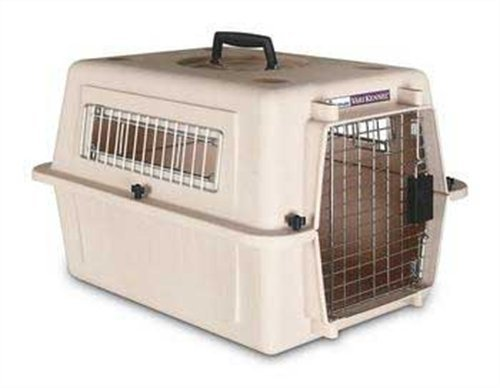 Petmate Ultra Vari Kennel, For Pets up to 15 Pounds, Bleached Linen by Petmate
