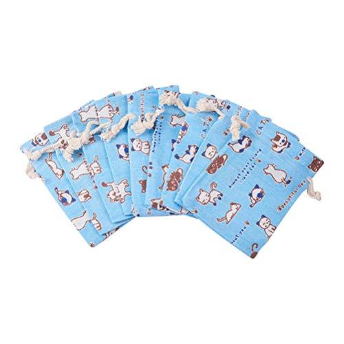Vosarea sacchetti bomboniere in juta sacchetti portaconfetti regalo sacchetti gioielli per compleanno matrimonio 50 pezzi
