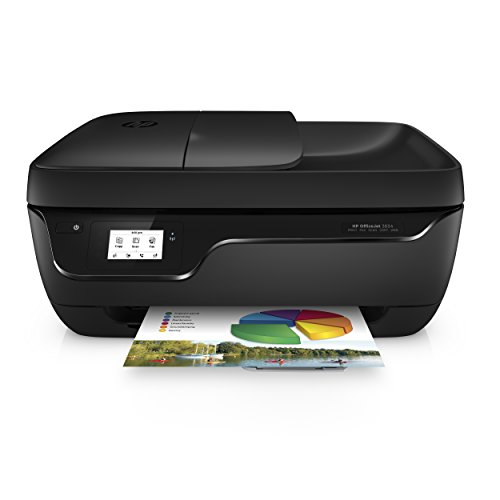 HP Officejet 3834 One Drucker, USB, wireless, A4, 4800 x 1200 dpi, Schwarz