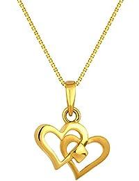 Joyalukkas 22KT Yellow Gold Pendant for Girls