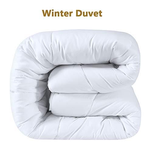D & G The DUCK & GOOSE CO Hochwertige Duo-Steppbett Warme Winterdecke Bettdecke Steppdecke Microfaser 155x220CM