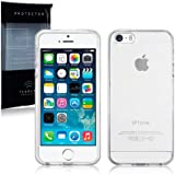 iPhone 5/5S/SE TPU Transparent Clear see Through Gel Case