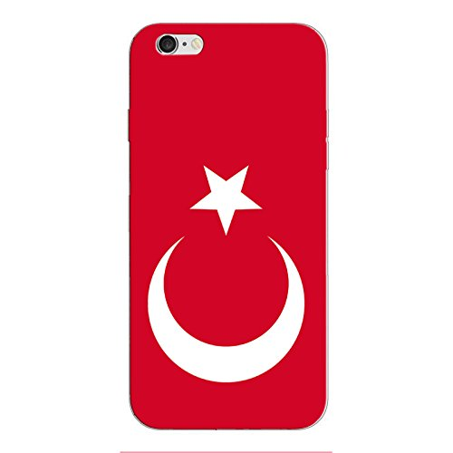 iPhone 5 5S SE Handyhülle Schutzhülle Hülle Silikon Cover Case Ultra Dünn Slim 4.0 TPU Türkei