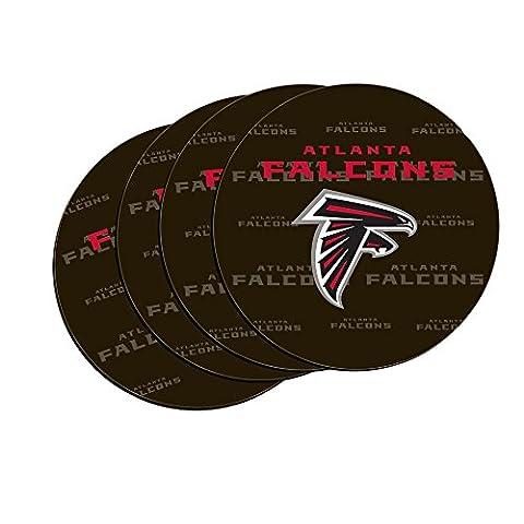 NFL Atlanta Falcons Neoprene Car Coasters,