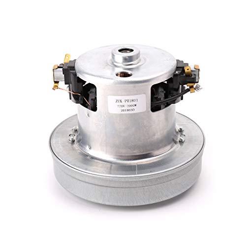 smallJUN Universal Py-29 220V 2000W Staubsaugermotor Reinigungsmaschine Ersatzstaubsaugermotor Silber