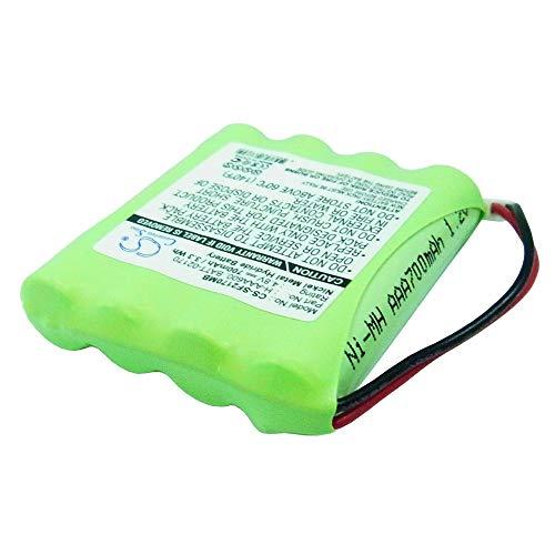 YINHUAN 3.7V-Baby-Telefon-Batterie-hohe Kapazität 700mAh Wieder aufladbare 3,7V-Volt-Batterien für 02170 Videomonitor, 02174 Videomonitor, 02320 Videomonitor/BATT-02170, H-AAA600, Sommer-Baby
