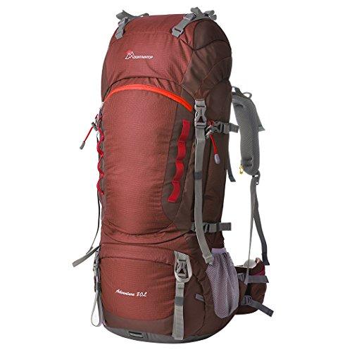 Mountaintop 80l zaino trekking impermeabile escursionismo montagna campeggio alpinismo viaggio