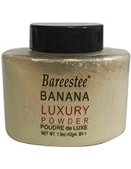 ROPALIA Poudre de Luxe Poudre Fond de Teint Libre Brillant Eclaircissant Poudre Banana