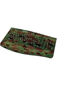 Greybusters USB Gaming Tastatur Gamer Camouflage Keyboard Layout Deutsch QWERTZ