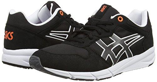 Asics Shaw Runner, Sneakers Basses Mixte adulte Noir (black/light grey 9016)