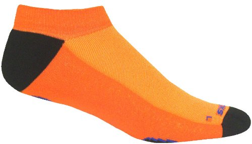 Brooks Infiniti Low Cut Socke, RJ45 Pack, unisex, Orange (Socken Running Brooks)