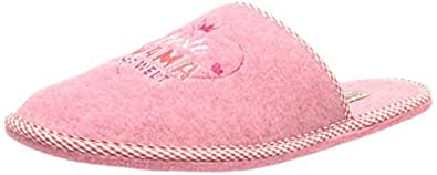 Adelheid Beste Mama Filzpantoffel, Damen Pantoffeln, Pink (rosa/610), 36/37 EU