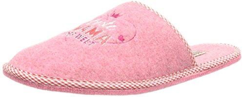 Adelheid Damen Beste Mama Filzpantoffel Pantoffeln, Pink (rosa / 610), 42/43 EU