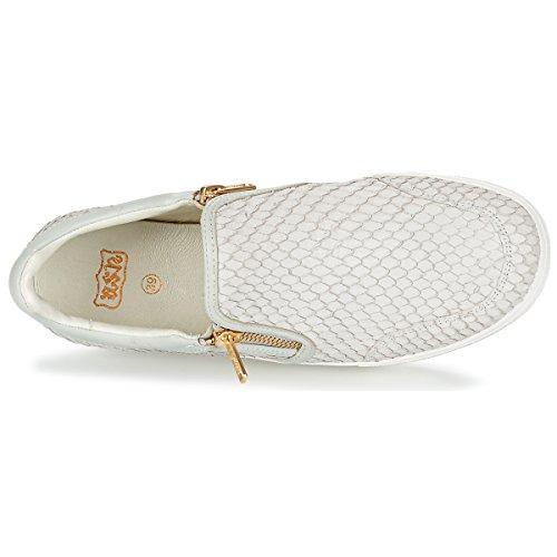 Ash Scarpe Jordy Sneaker di Cuoio Donna Marble