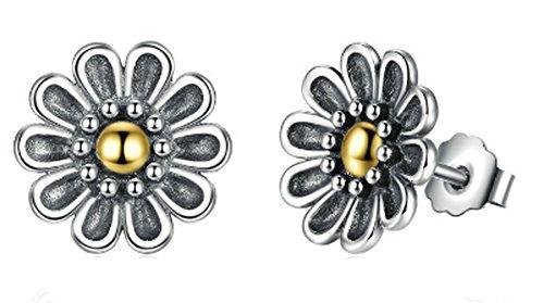 saysure-925-sterling-silver-black-chrysanthemum-flower-stud-earrings