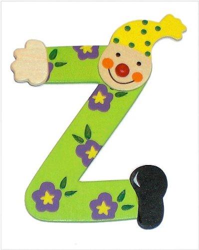 Inware 22208 - Holzbuchstabe Z, Clown Design