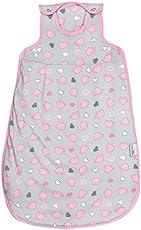 Schlummersack leicht gefütterter Babyschlafsack Frühjahr/Sommer 1.0 Tog für Mädchen und Jungs - in verschieden Farben und Größen erhältlich