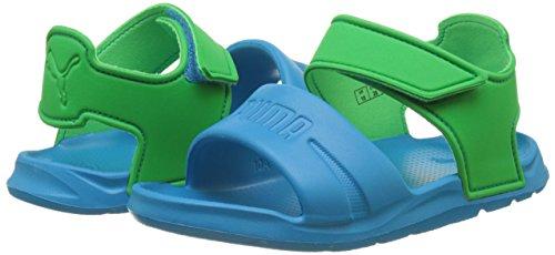 Puma Unisex-Kinder Wild Sandal Injex PS Low-Top, Blau (Blue Danube-Andean Toucan 01), 29 EU -