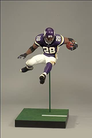 NFL Series 22 Action Figure - Adrian Peterson - Purple Jersey