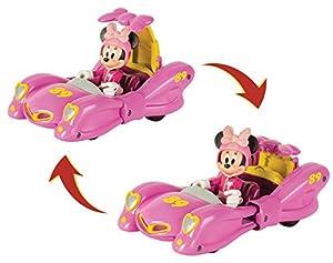 Mickey Mouse- Minnie Vehículo de Juguete, Transformable, (IMC Toys 184237)