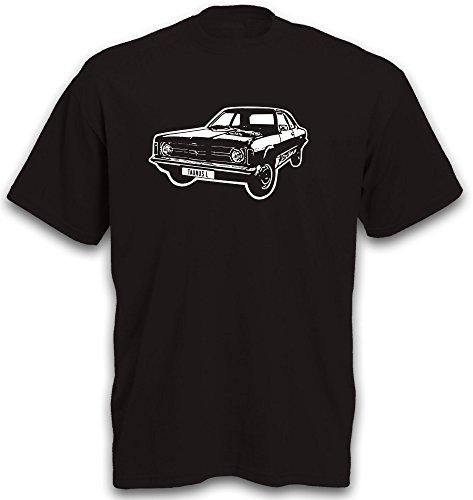 T-Shirt Taunus Autoshirt Youngtimer Gr. S-XXL Schwarz