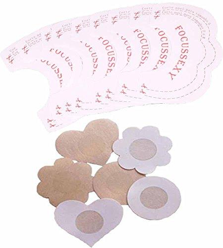 Damen Heben Aufkleber Bra Unsichtbares Klebeband Boob Enhancer Nippelabdeckung Pad Instant Bare Lift Breast Lifts Invisible Bra Tape