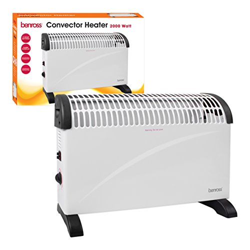 41su5QpZ 1L. SS500  - Benross 40770 2-Kilowatt Convector Heater / 3 Heat Settings / Portable / Overheating Protection