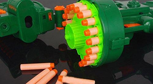 Brigamo 470 – Elektrisches Gewehr Schnellfeuer Softdart Blaster Super Speed Hellfire inkl. Munition - 2