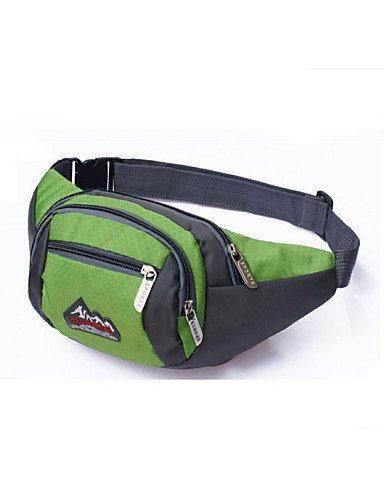 ZQ 1L L Hüfttaschen / Tourenrucksäcke/Rucksack / Radfahren Rucksack Camping & Wandern / Angeln / Klettern / Reiten / Jagd / Reisen / Jogging Green