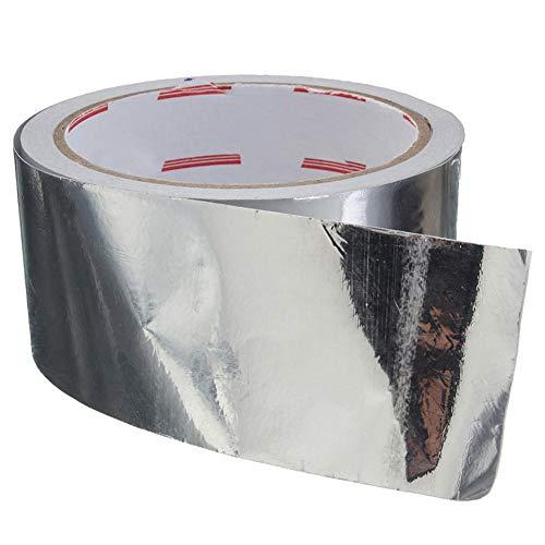 Jiyoho 1pc Cinta adhesiva sellado papel aluminio Resistencia