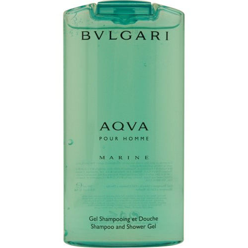 Bulgari Acqua Pour Homme Gel Shampoo Capelli Doccia, 200 ml