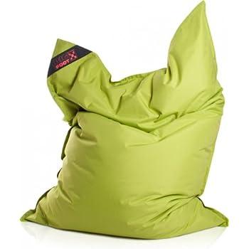 Sitzsack Scuba Big Foot 130x170cm grün (Outdoor)