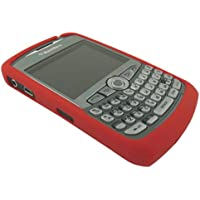 Genuine BlackBerry Curve 8300/8310/8320 RED Silicone Case/Skin