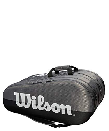 WILSON Tennisschlägertasche Team 3 Comp grau/schwarz (719) 15