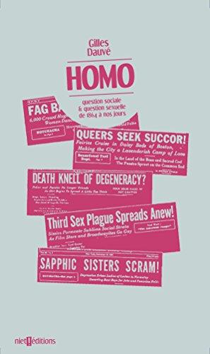 Homo : Question sociale et question sexuelle de 1864 à nos jours